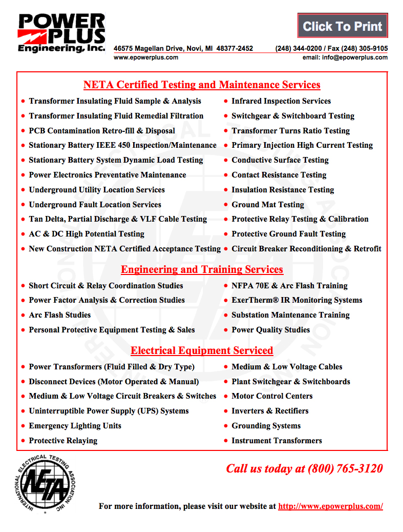 Line Card Power Plus Engineering Inc Basic Of Relay Coordination Click Here