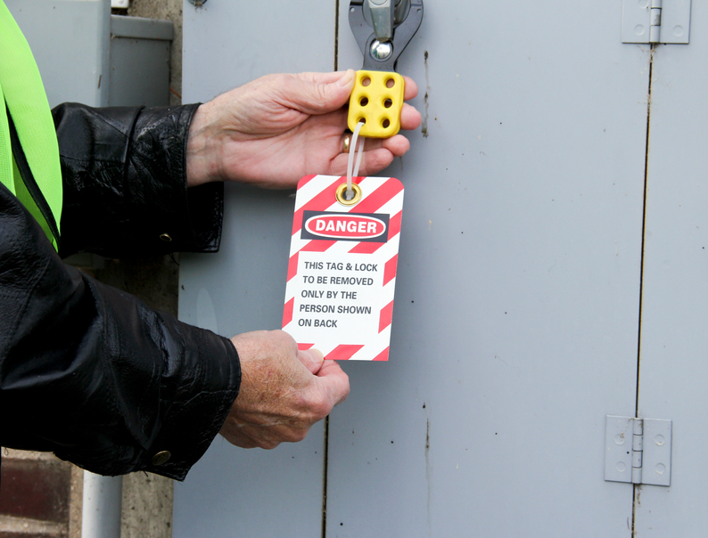 NFPA 70E Training Services - Indiana, Michigan and Ohio - locktag